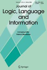 Journal of Logic, Language and Information