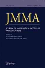 Journal of Mathematical Modelling and Algorithms