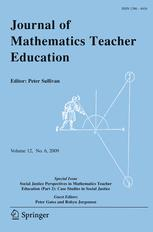 Journal of Mathematics Teacher Education