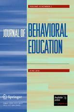 Journal of Behavioral Education