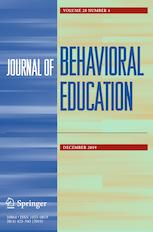Teaching Partial-Interval Recording of Problem Behavior with Virtual Reality