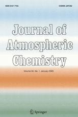 Journal of Atmospheric Chemistry