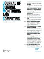 Journal of Clinical Monitoring and Computing