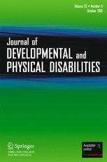 Assessment and Treatment of Mood Disorders in Persons with Developmental Disabilities SpringerLink