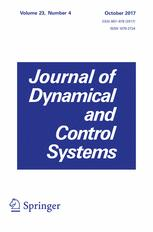 Journal of Dynamical and Control Systems