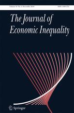 The Journal of Economic Inequality