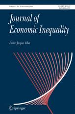 The Journal of Economic Inequality