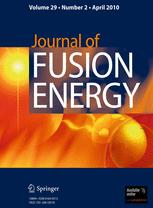Journal of Fusion Energy