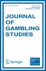 Journal of gambling studies acceptance rate uk casino welcome bonus
