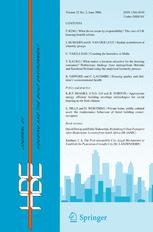 Journal of Housing and the Built Environment