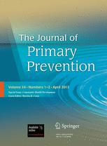 The Journal of Primary Prevention