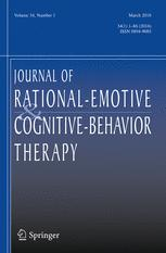 Journal of Rational-Emotive & Cognitive-Behavior Therapy