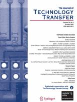 The Journal of Technology Transfer