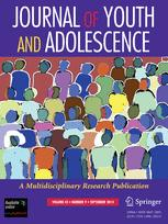Journal of Youth and Adolescence