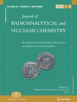 Journal of Radioanalytical and Nuclear Chemistry Articles
