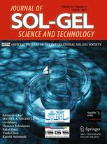 Journal of Sol-Gel Science and Technology