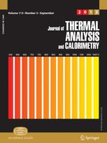 Thermophysical property determination of high temperature alloys by thermal analysis