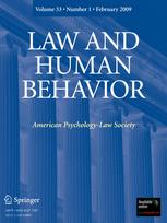 Law and Human Behavior