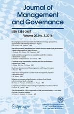 Journal of Management & Governance