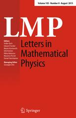 Letters in Mathematical Physics