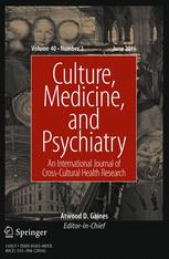 Culture, Medicine, and Psychiatry