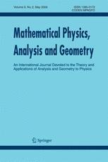 Mathematical Physics, Analysis and Geometry