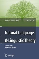 Natural Language & Linguistic Theory