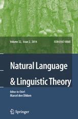 Natural Language & Linguistic Theory