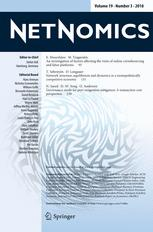 NETNOMICS: Economic Research and Electronic Networking
