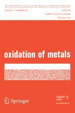 Oxidation of Metals
