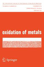 Oxidation of Metals