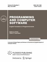 Programming and Computer Software