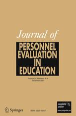 Journal of Personnel Evaluation in Education