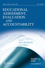 Educational Assessment, Evaluation and Accountability (formerly: Journal of Personnel Evaluation in Education)