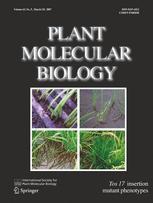 Plant Molecular Biology