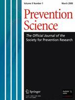 Prevention Science