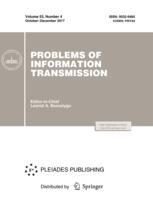 Problems of Information Transmission
