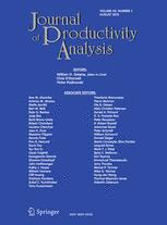 Journal of Productivity Analysis