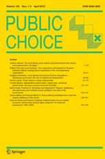 Papers on Non-market Decision Making