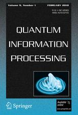 Quantum Information Processing