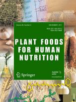 Plant Foods for Human Nutrition