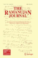 The Ramanujan Journal