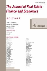 The Journal of Real Estate Finance and Economics 3/2017