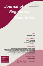 Journal of Regulatory Economics
