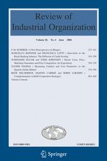 Review of Industrial Organization