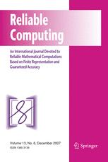 Reliable Computing