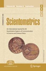 Scientometrics cover image