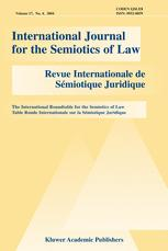 International Journal for the Semiotics of Law