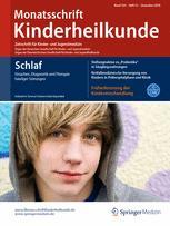 Monatsschrift Kinderheilkunde 12/2016