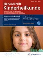 Monatsschrift Kinderheilkunde 5/2017